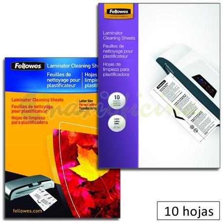 Pack 10 Hojas De Limpieza y Transportador A4