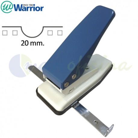 Perforadora Warrior Semicírculo Uñero