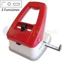 Perforadora y Redondeadora 3 funciones