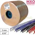 """Bobina de Wire-O nº3 - 5mm 3/16"""" 127.000 Anillas"""