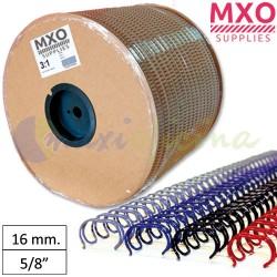 """Bobina de Wire-O nº10 - 16mm 5/8"""" 10.500 Anillas"""