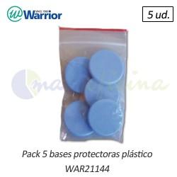 Bases protectoras de Redondeadora esquinas Warrior