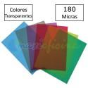 Portada Encuadernación PVC A4 180 micras Colores Transparentes