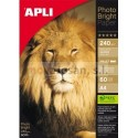 PAPEL INK PHOTO BRollo Apli 240g. 60 hojas