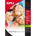 Bolsa Apli PAPEL BEST PRICE 140G.100 hojas 5 PACK