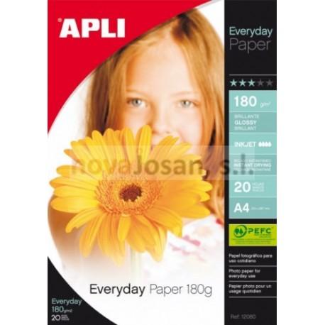 Bolsa Apli PAPEL EVERYDAY 180G. 20 hojas