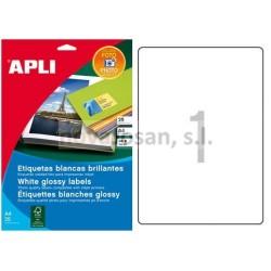 Bolsa Fotos autoahesivas Apli INK GLOSSY 199.6X289.1 10 hojas