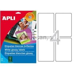 Bolsa Fotos autoahesivas Apli Láser y Copiad. COL.GLOSSY 88.9X127.0 10 hojas