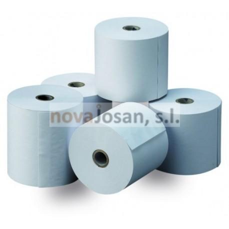 ROLLOS PAPEL 13321 TÉRMICO 80X60X12 mm 8 rollos