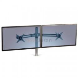 Brazo accesorio doble pantalla para estación de trabajo 7901