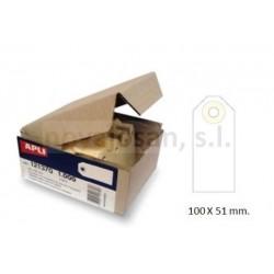 Caja Apli ETIQUETAS CON ARANDELA 100 x 51mm (1000u)