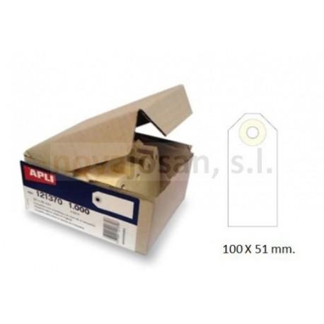 Caja Apli Etiquetas CON ARANDELA 100X51 1000 unidades