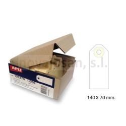 Caja Apli ETIQUETAS CON ARANDELA 125 x 63mm (1000u)