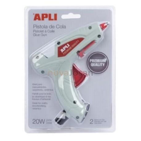 Pistola de cola eléctrica Apli PREMIUM+ 2 barras