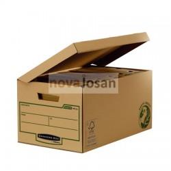 Maxi contenedor de archivos con tapa fija