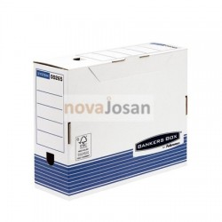 Caja de archivo definitivo A4 100 mm azul