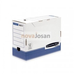 Caja de archivo definitivo A4 150 mm azul
