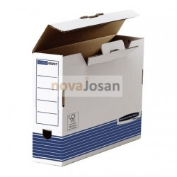 Caja de archivo definitivo folio 80 mm azul