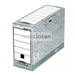 Caja de archivo definitivo folio 120 mm gris