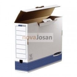 Caja de archivo definitivo A3 100 mm azul