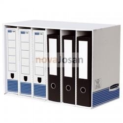 Clasificador de archivadores azul