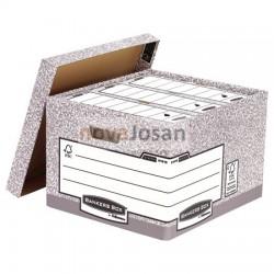 Contenedor de archivos tamaño folio gris