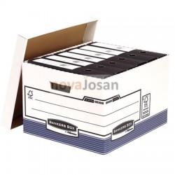 Contenedor de archivos tamaño folio azul