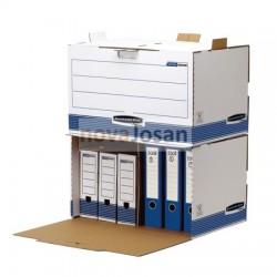 Contenedor de archivos acceso frontal azul