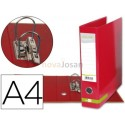 Archivador palanca A4 filing system forrado sin rado lomo 80mm