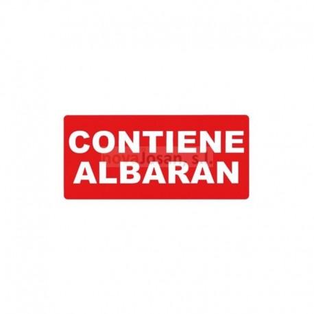 Rollo Etiqueta Apli CONTIENE ALBARAN 200 unidades