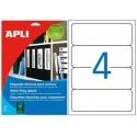 Etiquetas Adhesivas Apli 190X61mm 25h Ref.01233