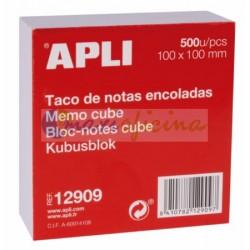 TACO NOTAS ENCOLADAS 100X100mm