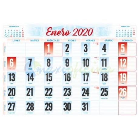 Faldillas para Calendarios 2020 485x340 mm. Pack 100u.