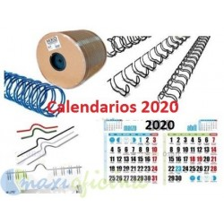Faldillas para Calendarios de 2020