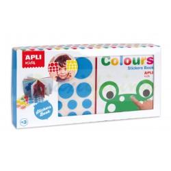 Mi primer libro con gomets Colores