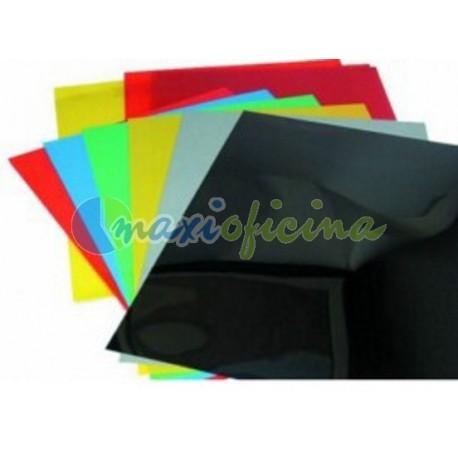 Portada Encuadernación Carton Simil Piel A4 750gr. ROJO