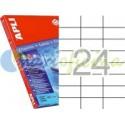 Etiquetas Adhesivas Transparentes Apli 70x37 10H