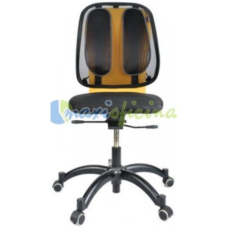 Respaldo ergonómico de rejilla Fellowes Mesh Office Suites Oficina